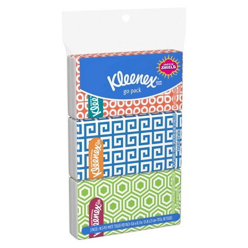 Kleenex Go Pack Facial Tissue - 3pk / 10ct each - image 1 of 1