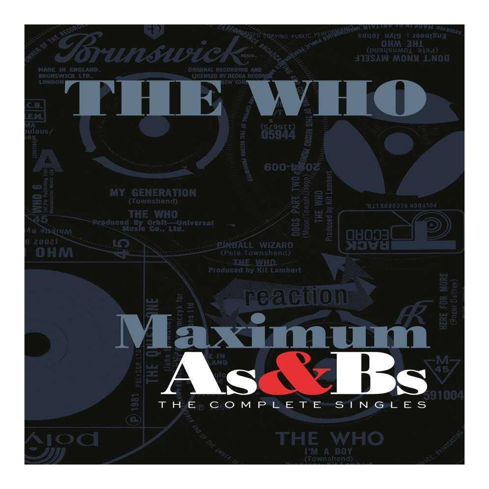 The Who Maximum A S B S 5 Cd