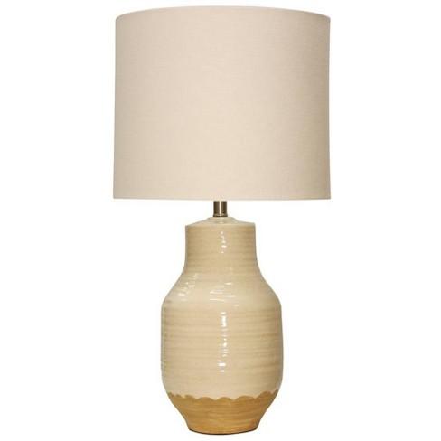 Prova Ceramic Table Lamp Buff Beige  - StyleCraft - image 1 of 1