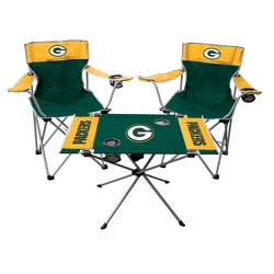 NFL Rawlings Tailgate Kit - 2 Chairs and Endzone Table
