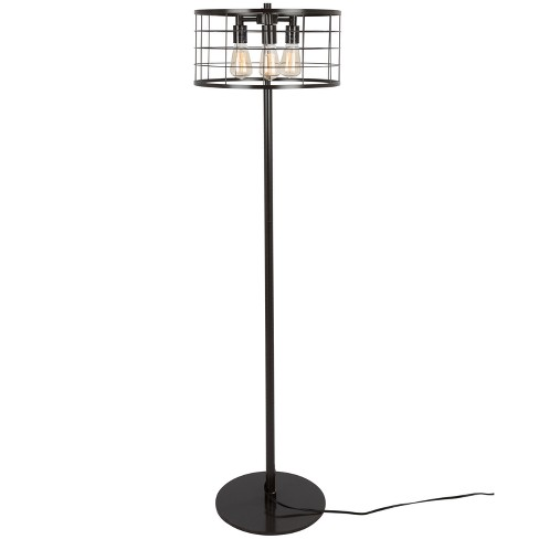 Indy Wire Industrial Floor Lamp Antique  - Lumisource - image 1 of 4