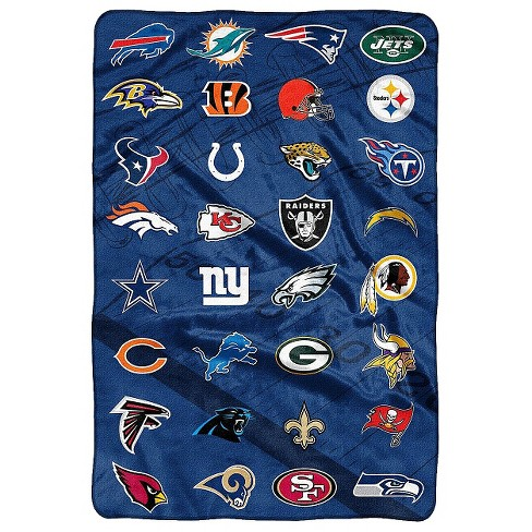 NFL Twin Bed Blanket - image 1 of 1