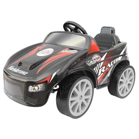 Kid Motorz 6V Speed Racer Powered Ride-On - Black - image 1 of 4