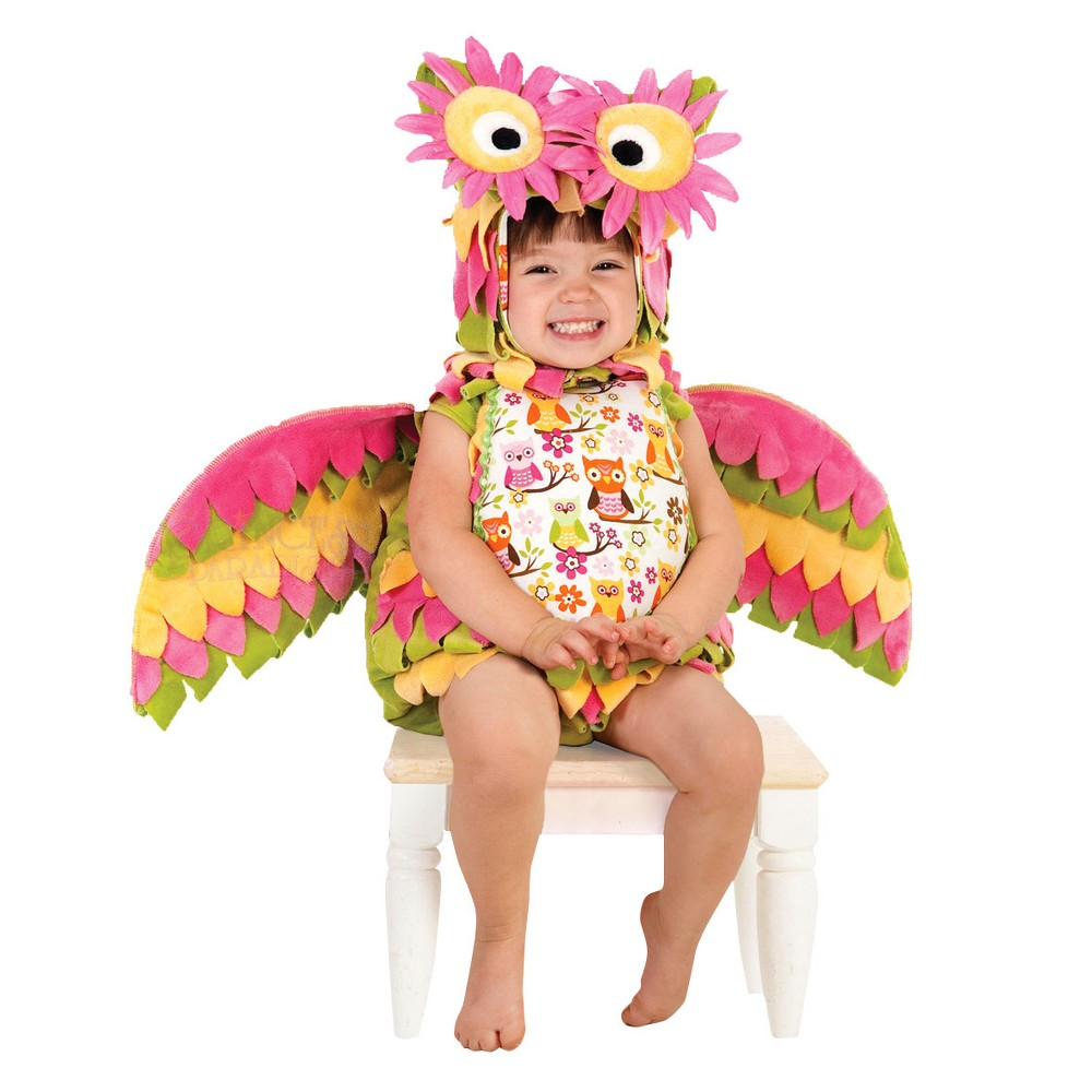 Image of Halloween Girls' Hootie The Owl Toddler Costume 6-12m, Girl's, MultiColored