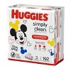 Huggies Simply Clean Fragrance-Free Baby Wipes (Select Count) - image 3 of 4