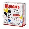 Huggies Simply Clean 3pk Baby Wipes - 192ct - image 3 of 4