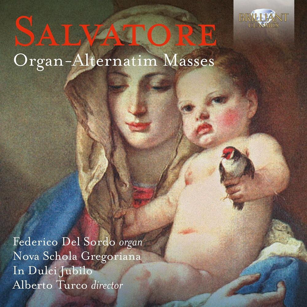 Federico Del Sordo - Salvatore: Organ-alternatim Masses (CD) Federico Del Sordo - Salvatore: Organ-alternatim Masses (CD)