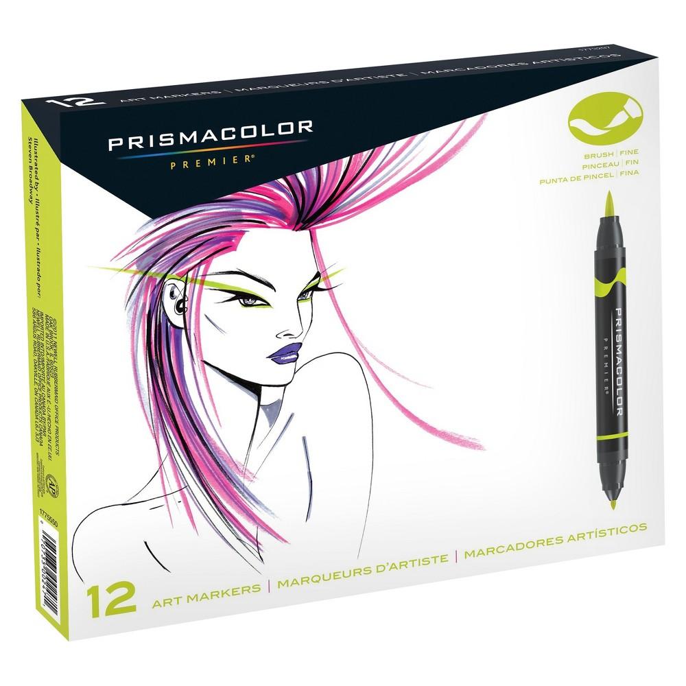 Image of Prismacolor Premier Art Marker Dual Tip 12ct