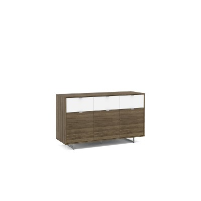 """53"""" Hamilton Sideboard Walnut and White - Chique"""