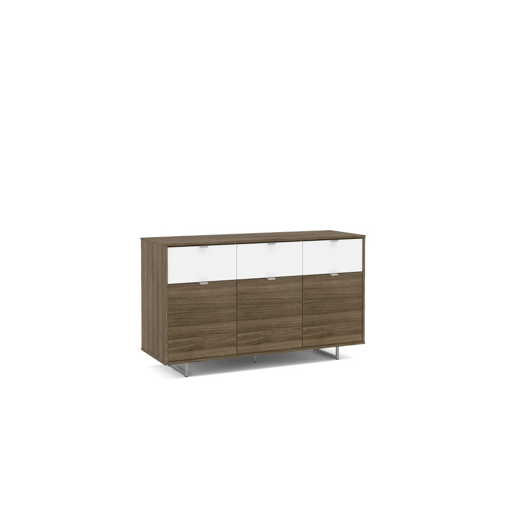 """Image of """"53"""""""" Hamilton Sideboard Walnut and White - Chique"""""""