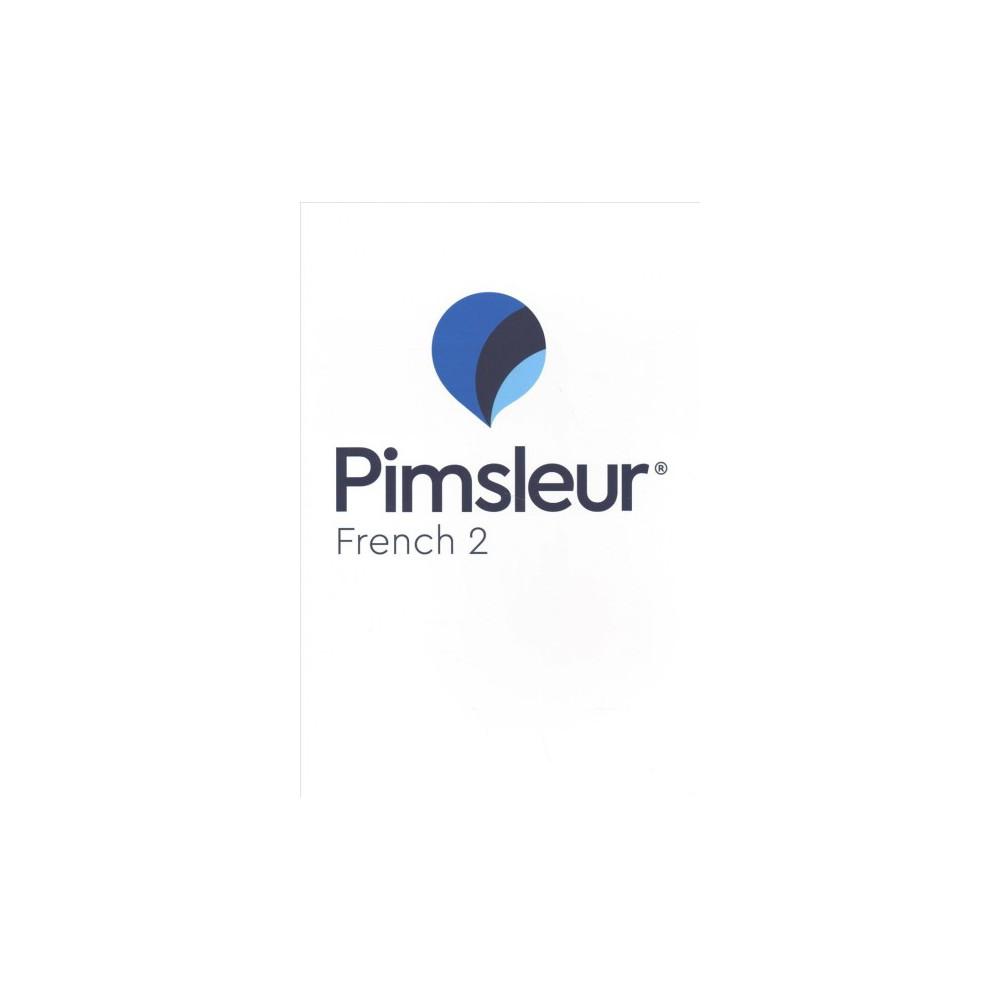 Pimsleur French 2 - Com/Bklt B (CD/Spoken Word)