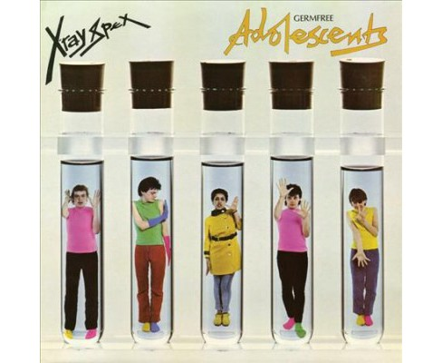 X-ray Spex - Germfree Adolescents (X Ray Clear) (Vinyl) - image 1 of 1