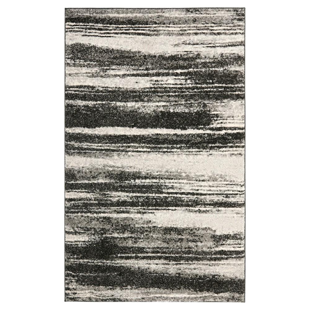 Ulla Area Rug - Dark Gray / Light Gray ( 6' X 9' ) - Safavieh