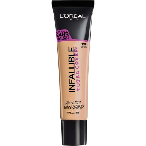 L'Oreal® Paris Infallible Total Cover Foundation - Medium Shades - 1.0 fl oz - image 1 of 3