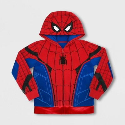 Boys' Disney I Am Spider-Man Activewear Sweatshirt - Red/Blue - Disney Store