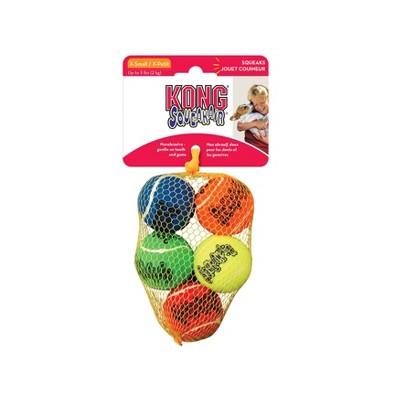 KONG SqueakAir Tennis Ball Dog Toy - XS - 5ct