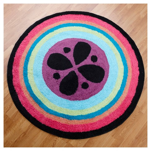 """One Grace Place Magical Michayla Round Rug (60""""X60"""") - image 1 of 4"""