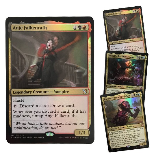 Magic: The Gathering Commander Merciless Rage Deck, Kids Unisex image number null