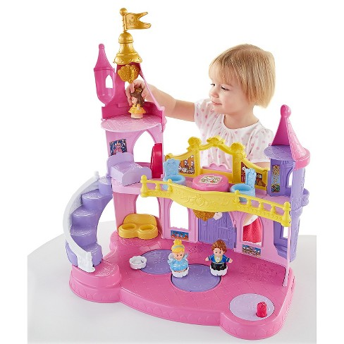 fisher price little people disney princess musical dancing palace