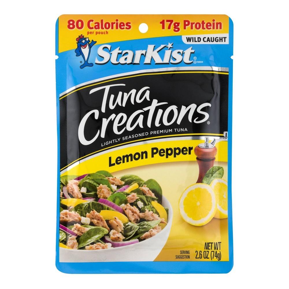 Starkist Tuna Creations Lemon Pepper Pouch 2 6oz