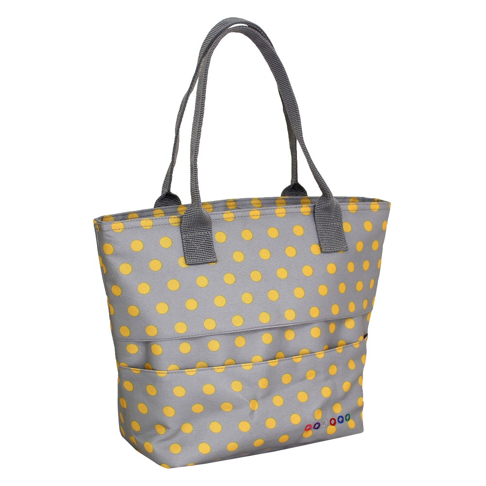 Image of J World Lola Lunch Bag with Back Pocket - Candy Buttons