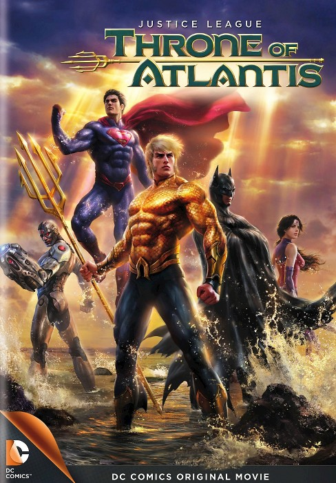 Justice League: Throne of Atlantis (dvd_video) - image 1 of 1