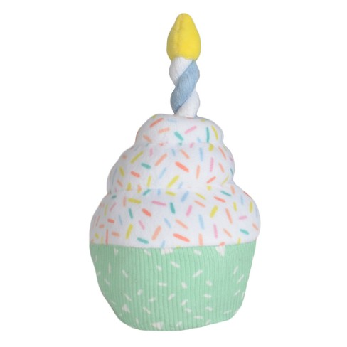 Cat & Dog Toy Birthday Cupcake - Boots & Barkley™ - image 1 of 1