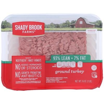 Shady Brook Farms 93/7 Ground Turkey - 1lb