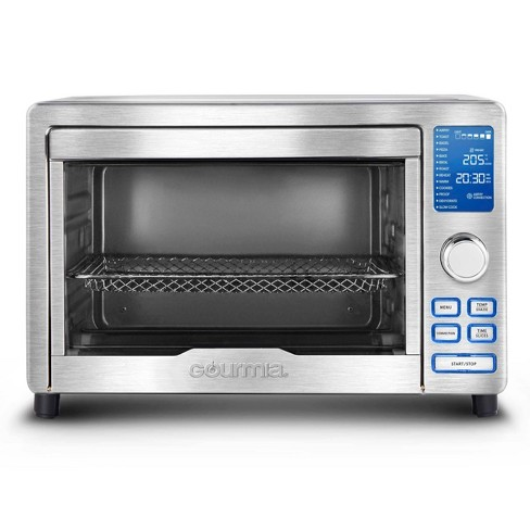 Gourmia Digital Stainless Steel Toaster Oven Air Fryer – Stainless Steel - image 1 of 4