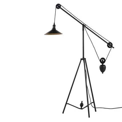 "Industrial Synchronized Pulley 48"" Floor Lamp - ZM Home - image 1 of 2"