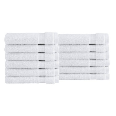 12pc Villa Washcloth Set - Royal Turkish Towels