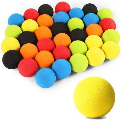 Okuna Outpost 36 Pack Foam Golf Flight Practice Balls, 6 Colors, 1.65 in