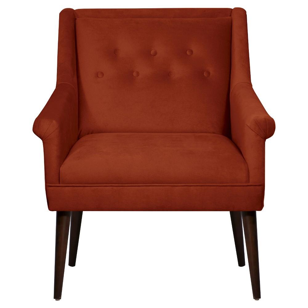 Button Tufted Chair in Mystere Hacienda - Skyline Furniture