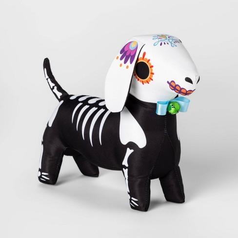 Da de Muertos Fabric Dog Decorative Figure - image 1 of 1