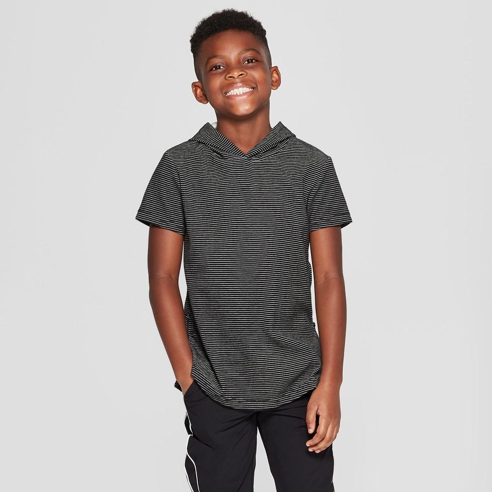 Boys' Short Sleeve Hoodie - art class Black XL