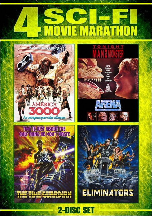 America 3000/Arena/Eliminators/Time G (DVD) - image 1 of 1