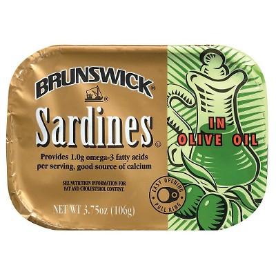 Brunswick Sardines in Olive Oil - 3.75oz