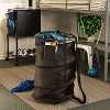 Pop Up Portable Laundry Hamper with Wheels - Dark Blue - image 3 of 4
