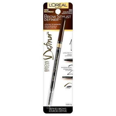 L'Oreal® Paris Brow Stylist Definer 390 Dark Brunette .45oz