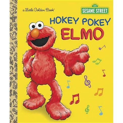 Hokey Pokey Elmo (Sesame Street) - (Little Golden Book) by Abigail Tabby  (Hardcover)