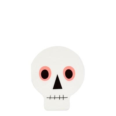 Meri Meri Neon Skull Napkins