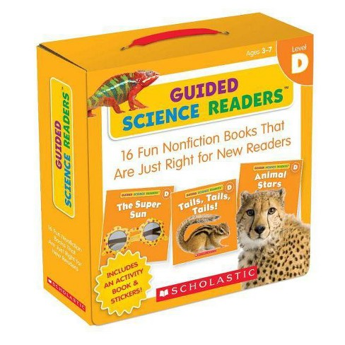 Guided Science Readers: Level D - by  Liza Charlesworth (Hardcover) - image 1 of 1
