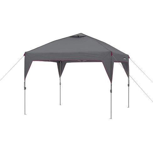 pretty nice 3a3b7 46dbb CORE Instant Canopy 10 x 10 Foot Outdoor Pop Up Shade Canopy Shelter Tent,  Gray