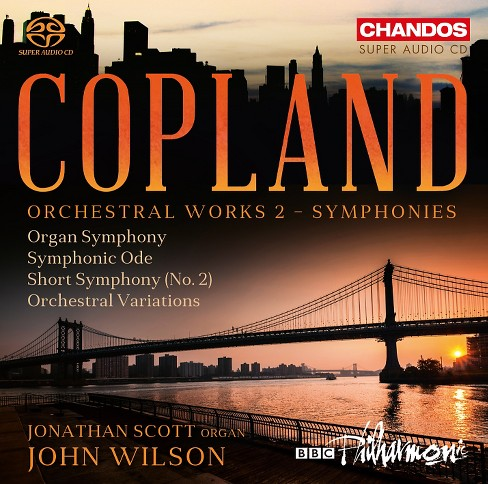 Bbc Philharmonic - Copland:Orchestral Works Vol 2 (CD) - image 1 of 1