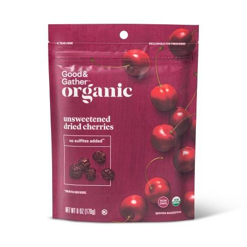 Organic Unsweetened Dried Cherries - 6oz - Good & Gather™ - image 1 of 2