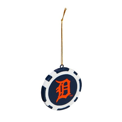 Evergreen Detroit Tigers Game Chip Ornament