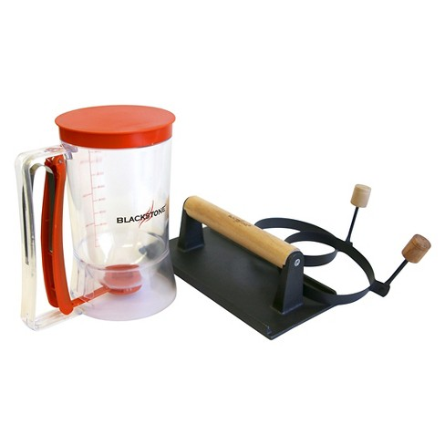 4-Piece Blackstone Breakfast Kit with Pancake Dispenser/Bacon Press/Egg/Pancake Rings - image 1 of 1