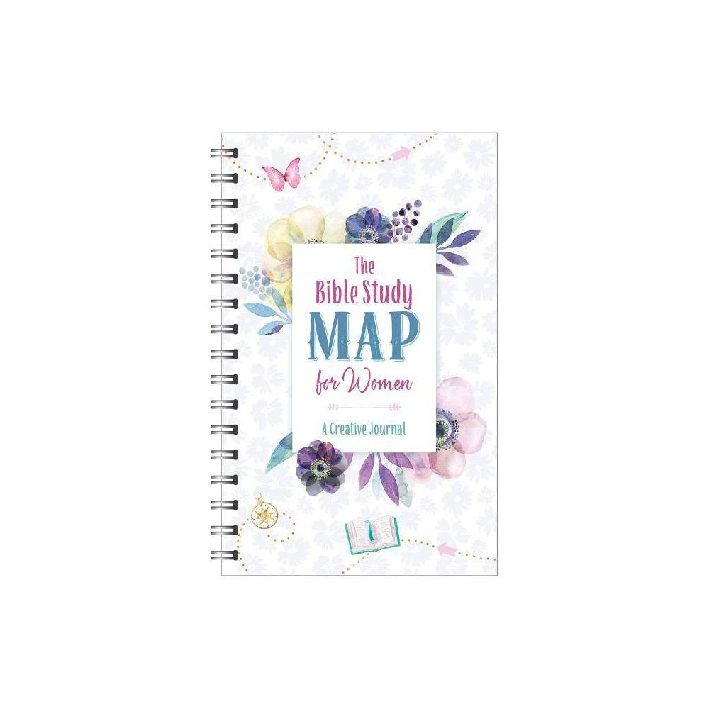 Bible Study Map for Women - (Faith Maps) by Compiled by Barbour Staff (Spiral_bound)