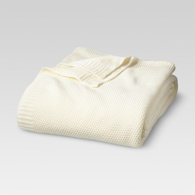 Sweater Knit Blanket Shell (Twin)- Threshold™