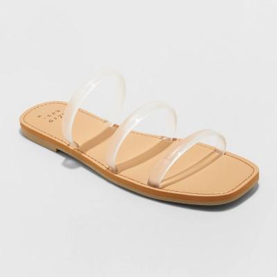 Women's Wren Triple Strap Sandals - A New Day™